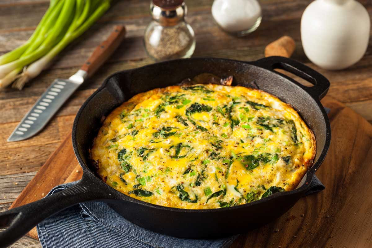 Cheese and Steak Frittata